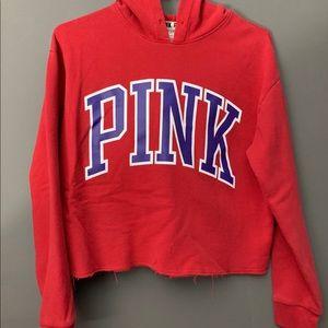 PINK VS Cropped Top Hoodie